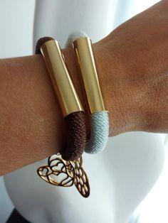 #accesorios Napkin Rings, Bracelets, Leather, Jewelry, Accessories, Jewlery, Jewerly, Schmuck, Jewels