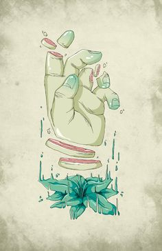 Abstract illustration by Levi Strauss