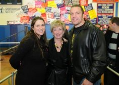 Stephanie McMahon , Linda McMahon and Triple H Paul Levesque
