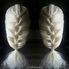 Fishtail mermaid braid More