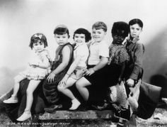 The Little Rascals. I have to like this one! :-) Every Saturday morning during the 50s, the Little Rascals movies were played on TV!!! Thats where I learned to love them!!! #alfalfa