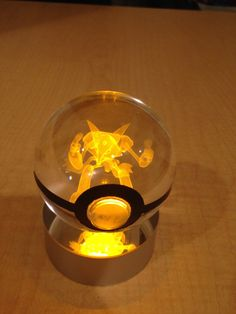 Alakazam Pokemon Pokeball by PokeMasterCrafter on Etsy