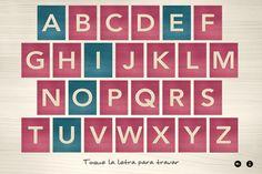 letras montesori