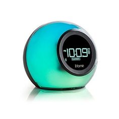 Superbe IHome IBT29BC Bluetooth Color Changing Dual Alarm Clock FM Radio With USB  Charging And Speakerphone