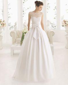 MIEL vestido de novia Aire Barcelona 2017
