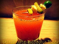 Ultimate Bloody Beer #drinks #cocktails #drinkrecipes