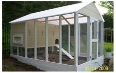 Image result for DIY large chicken run