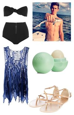 """""""Fishing with Nash Grier"""" by amya18 ❤ liked on Polyvore featuring Lisa Marie Fernandez, Eos, women's clothing, women, female, woman, misses and juniors"""