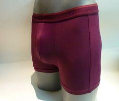 #Boxer jan men Fresh Burdeos. #Calzoncillo media pierna con tacto y suavidad excepcional. Extremadamente cómodos por su adaptabilidad y ligereza. Ref: 1090233 http://www.varelaintimo.com/marca/14/jan-men #menswear #ropainterior #underwear