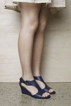 Unico by Top End. #topendshoes #cinorishoes #cinori #midheel  #wedgeheel #races #bestseller #comfortableshoes #comfort #timeless #style #fashion #shoes #navy #goeswitheverything Style Fashion, Fashion Shoes, Shoe Brands, Summer 2014, Comfortable Shoes, Best Sellers, Wedge Sandals, Night Out, Black Leather
