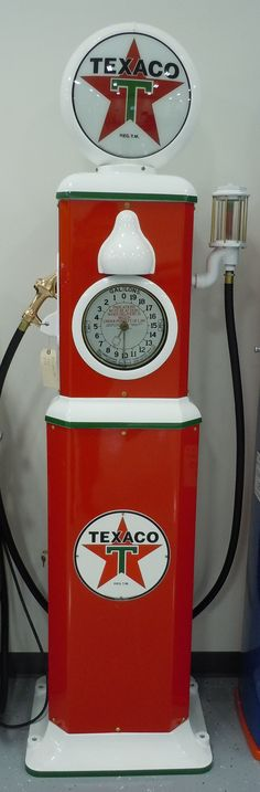 Restored Milwaukee 786 Gas Pump done in Texaco. Contact us via route32restorations.com if interested.