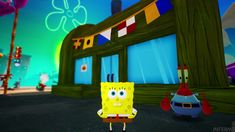Video Game Characters, Clean Up, Spongebob, Bikini Bottoms, Battle, Neon Signs, Videos, Bikinis, Youtube