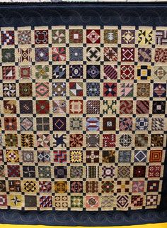 The Raspberry Rabbits: More from the Mid Atlantic Quilt Festival Civil War Diary Quilt