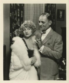 Still from the 1928 silent film The Big City.  The film is lost.