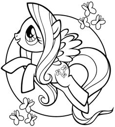 My Little Pony Coloring Pages To Print Through The Thousand Photos