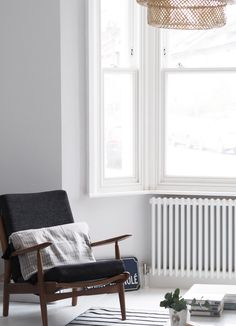 My living room makeover – painted white floors and light grey walls (cate st hill) Scandi Living Room, Living Room White, White Rooms, Living Room Colors, Living Room Paint, My Living Room, Living Room Designs, Living Room Decor, Small Living