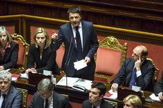 Discorso al Senato, Renzi preme per una scuola più sicura