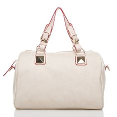 There is nothing more posh than a white handbag.