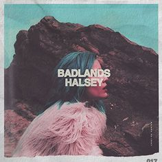 The rising new pop star Halsey is here! New album 'Badlands' is a huge stepping stone for Halsey, 20 towards getting into a bigger audience. Cool Album Covers, Album Cover Design, Music Album Covers, Music Albums, Indie Pop, Cover Songs, Hopeless Fountain Kingdom, Cover Art, Music Posters