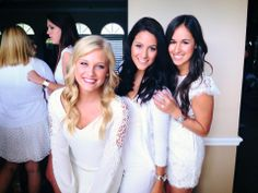 Kappa Delta little, big, and g-big smile after initiation! #sorority #group