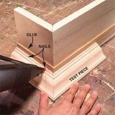 How to Build Window Cornices--Custom-build your own window cornices for one-fourth the price of store-bought. Do It Yourself Furniture, Do It Yourself Home, Diy Furniture, Furniture Design, Plywood Furniture, Modern Furniture, Window Cornices, Window Coverings, Window Canopy