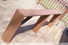 DIY Sofa Table: Tutorial