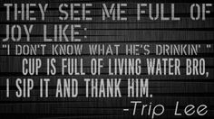 Lyrics from Trip Lee