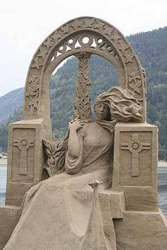 sand art 1 ~ Artist unknown