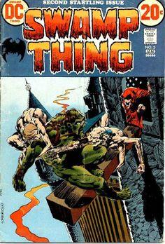 Swamp Thing #2, Bernie Wrightson