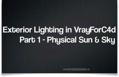 Exterior-lighting-in-Cinema-4D-using-Vray-part-1