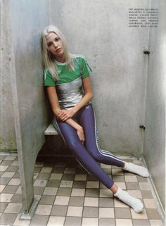Nadja for Vogue Italia, Jan 1994