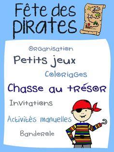 Chasse au trésor et plein d'autres idées pour une fête de pirate !
