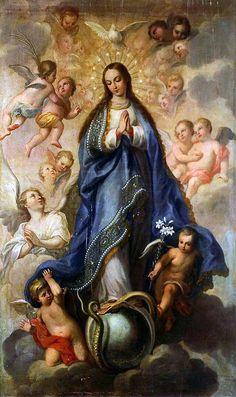 """Reflexões 1          """" O Senhor possuiu-me desde o princípio de seus caminhos"""" 2 .  Quem senão esta filha favorecida do Céu, a..."""