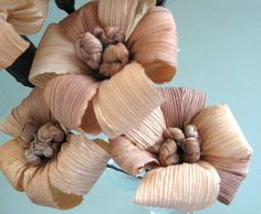 Peach & Blue by Maggie Williams on Etsy