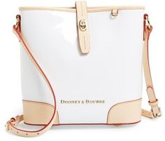 $228, Claremont Crossbody Bucket Bag by Dooney & Bourke. Sold by Nordstrom. Click for more info: http://lookastic.com/women/shop_items/179721/redirect