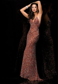 Shop Simply Dresses for long sequin prom dresses by Scala. Long v-neck sequin gowns and open back sequin dresses for prom or formal. Long Sequin Dress, Sequin Prom Dresses, V Neck Prom Dresses, Jovani Dresses, Sequin Gown, Prom Dresses For Sale, Homecoming Dresses, Evening Gowns Couture, Backless Evening Gowns