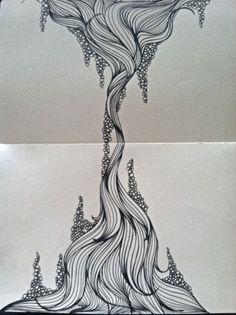 Moleskine Sketches by Catie Cook, via Behance
