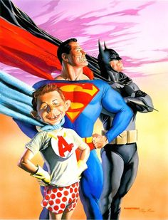 Mad On Superheroes by Alex Ross