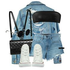 High Heels Suicide, Alexander Wang, Yves Saint Laurent and Converse Cute Outfits For School, Cute Swag Outfits, Edgy Outfits, Teen Fashion Outfits, Womens Fashion, Mode Pastel, Tumblr Outfits, Teenager Outfits, Swagg