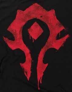 J!NX : World of Warcraft Horde Spray Premium Tee - Clothing Inspired by Video Games & Geek Culture