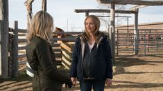 10 x 16 This Sunday - A Long Shot - Heartland  Amy with new client Claire Wallace (Guest star Kari Matchett)