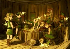 Legend of Zelda: Ocarina of Time Kokiri fanart