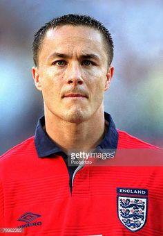 Football European Championships Charleroi Belgium England 1 v Germany 0 17th June Portrait of England's Dennis Wise