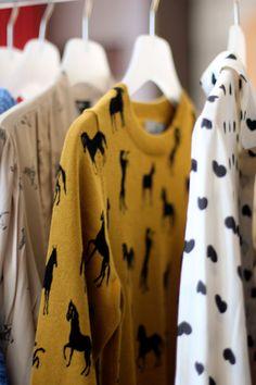 Printed sweaters. look de inspiração ♥ não disponível no muccashop