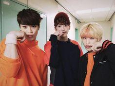 Moonbin, SanHa and JinJin