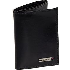 Tommy Hilfiger Mens Leather Classic Trifold Wallet Black *** More info could be found at the image url. Note: It's an affiliate link to Amazon #MenWallet