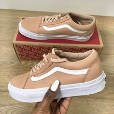 "91 Likes, 7 Comments - Locokickz Women (@locokickzwomen) on Instagram: ""Vans Old Skool X Toasted Almond ----- Shout out to @mollystylesss ----- #LocoKickz"""