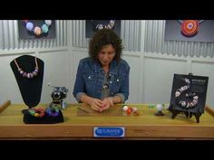 Make beads with polymer clay - video tute