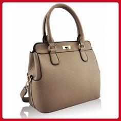 Saute Styles Women's Handbag Leather Handbag Style 2: Nude Fashion Tote - Totes (*Amazon Partner-Link)