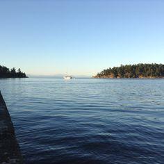 Bennett Bay, Mayne Island BC Canada